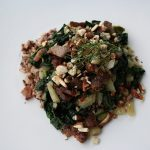 Wild Rice with Spinach, Fennel & Toasted Almonds