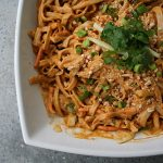Curry Peanut Rice Noodles
