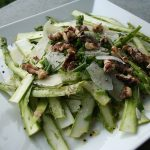 Shaved Asparagus and Parmesan Salad