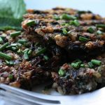Wild Rice and Spinach Patties
