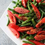Green Bean and Tomato Salad