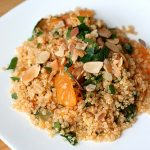 Citrus Quinoa Salad with Toasted Almonds