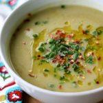 Creamy Asparagus, Potato and Leek Soup (Vegan)