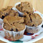 Gluten-Free Chocolate Chip Flax-Seed Muffins