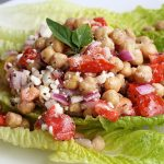 Chickpea, Tomato & Feta Salad