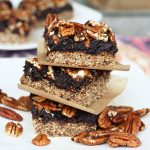 No Bake Pecan Pie Bars – Gluten-free, Raw and Vegan
