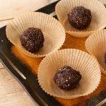 Chocolate Cherry Fudge Bites – Vegan, Gluten-free, Sugar Free, Corn Free
