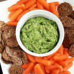 Creamy Dairy-Free Spinach Dip (vegan, gluten-free)