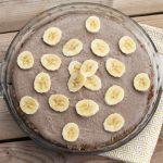 No-Bake Banana Cream Pie – Gluten-free + Vegan