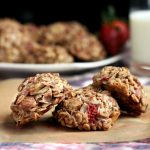 Strawberry Coconut Breakfast Cookies – Gluten-free + Vegan