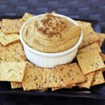 Creamy Indian-Spiced White Bean Dip – Gluten-free + Vegan
