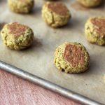 Baked Falafel Bites with Creamy Tahini Dressing – Gluten-free + Vegan
