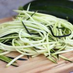 Zucchini Noodles – Vegan & Gluten-free, Raw option