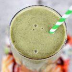 Mango Banana Green Smoothie – Gluten-free + Vegan