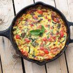 Summer Harvest Frittata – Gluten-free + Dairy-free