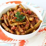 Fasolakia Freska (Greek Green Bean Stew) – Gluten-free (Vegan option)