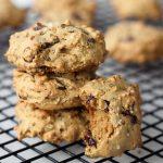 Grain-free Pistachio Chocolate Chip Cookies with Sea Salt – Gluten-free + Dairy-free (Vegan option)