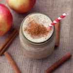 Apple Pie Smoothie – Gluten-free, Vegan + Refined Sugar-free