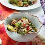 Roasted Brussels Sprout Quinoa Salad – Gluten-free + Vegan {Guest Post by Queen of Quinoa}