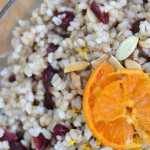 Clementine Ginger Almond Rice – Vegan, Gluten-free + Soy-free {Guest Post by Bring Joy}