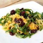 Raw Butternut Squash and Kale Salad – Gluten-free + Vegan
