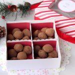 Dark Chocolate Peppermint Truffles – Gluten-free + Vegan