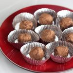 Dark Chocolate Red Wine Truffles – Gluten-Free + Vegan