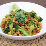 Spring Cleanse – Broccoli and Chickpea Curry – Gluten-free + Vegan