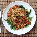 Spring Cleanse: Warm Lentil Salad – Gluten-free + Vegan