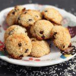 Chocolate Chip Coconut Macaroons – Gluten-free + Dairy-free