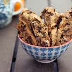 Grain-Free Orange, Almond & Dark Chocolate Biscotti – Gluten-free + Vegan