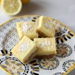 Grain-free Meyer Lemon Bars