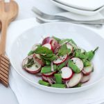 Spring Potato Salad with Sugar Snap Peas and Radishes – Gluten-free + Vegan