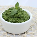 Arugula and Hemp Seed Pesto – (Gluten-free + Vegan w/ Nut-free option)