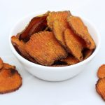 Curried Sweet Potato Chips – Gluten-free + Vegan