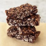 Chocolate Peanut Butter Road Trip Energy Bars – Gluten-free, Vegan + Refined Sugar-Free