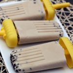 Vegan Chocolate Chip Cookie Dough Popsicles – Gluten-free + Refined Sugar-Free