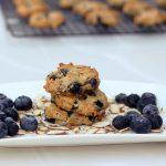 Grain-Free Blueberry Almond Breakfast Cookies – Gluten-free + Vegan