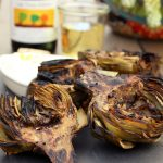Grilled Marinated Artichokes