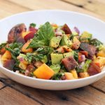 Heirloom Tomato and Avocado Salad (Gluten-Free + Vegan)