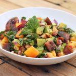 Heirloom Tomato and Avocado Salad (Gluten-Free + Vegan)