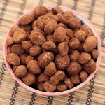 Cocoa Dusted Macadamia Nuts – Gluten-free, Vegan + Refined Sugar-free