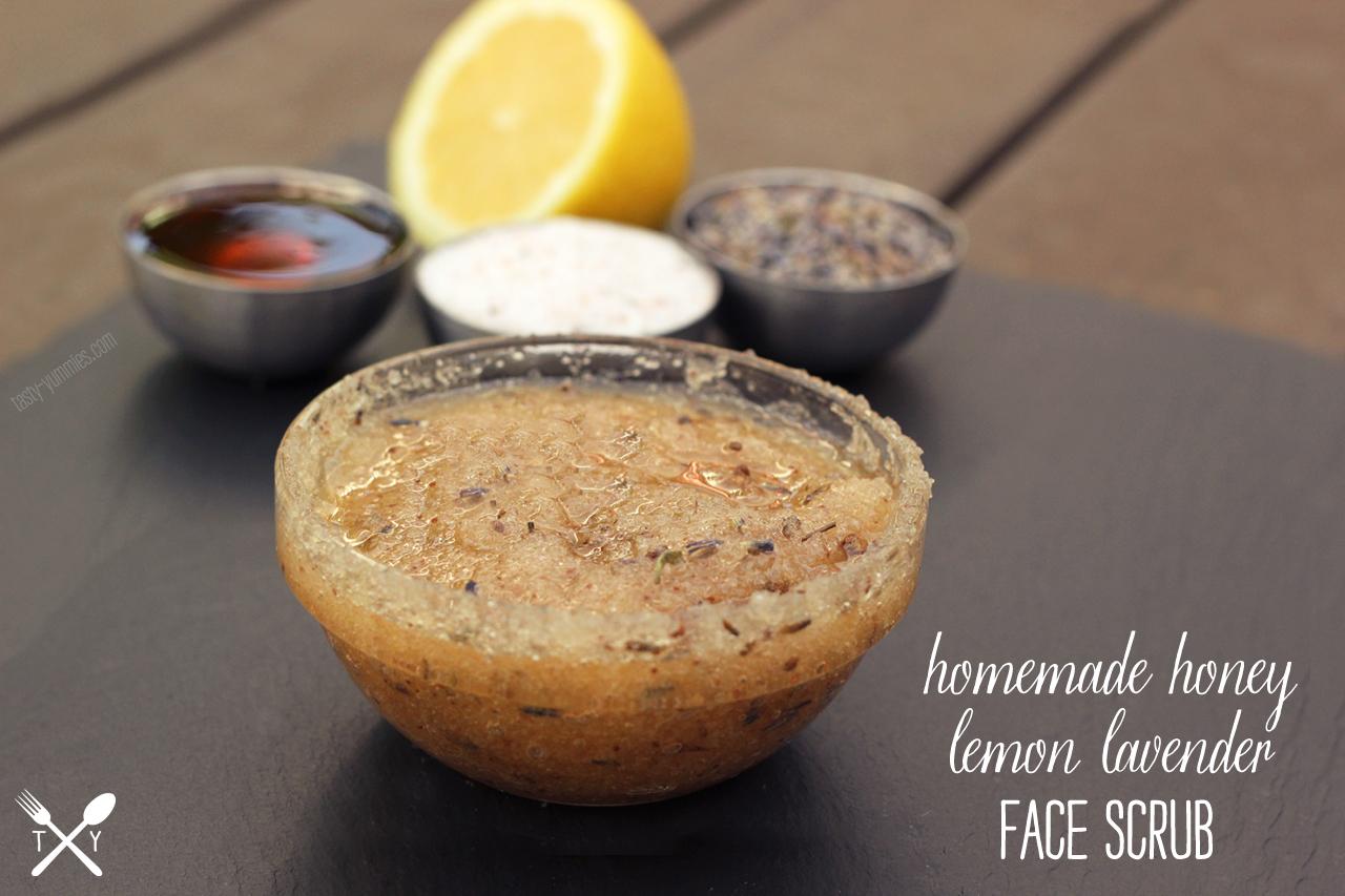 Homemade Honey Lemon Lavender Face Scrub Healthy Recipes