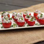 Kalamata Olive & Goat Cheese Stuffed Cherry Tomatoes – Gluten-free