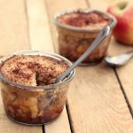 Grain-Free & Vegan Apple Cobbler In A Jar