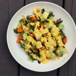 Fall Detox Buddha Bowl with Garlic Turmeric Cashew Cream  – Gluten-free + Vegan