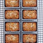Grain-free Coconut Pumpkin Mini-Loaves with Cocoa Nibs – Gluten-free & Dairy-free
