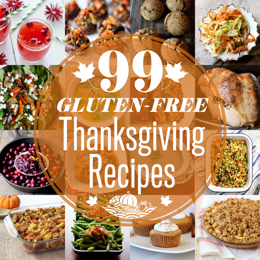 Easy Gluten Free Thanksgiving Recipes