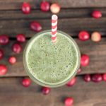 Cranberry Kale Smoothie {Gluten-free, Vegan and Sugar-free}
