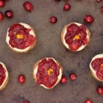 Grain-free Cranberry-Orange Spice Mini Tarts {Gluten-free and Vegan}